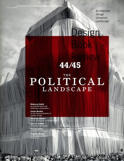 Cover of Design Book Review issue no. 44-45