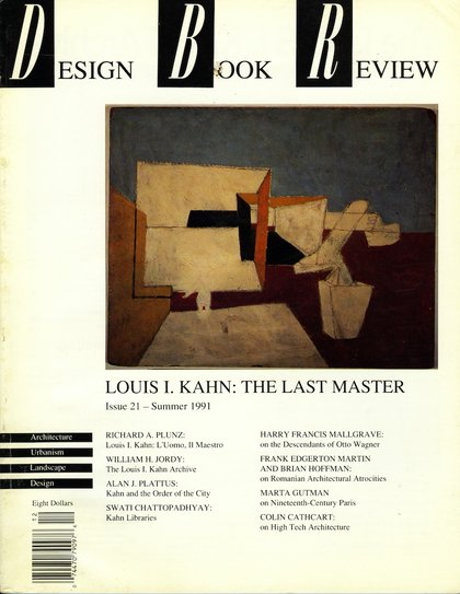 Cover of Design Book Review issue no. 21