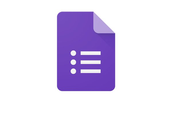 Google Forms Card