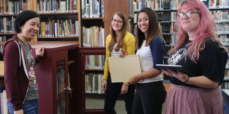 Meyer Library staff