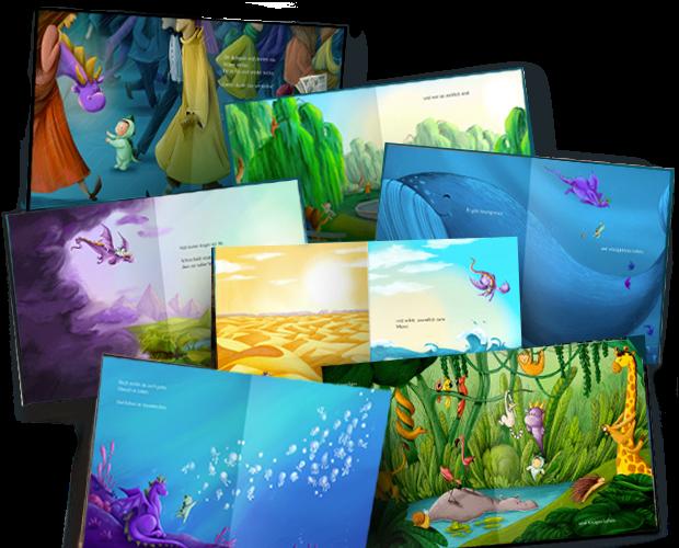 Una selección de imágenes del interior de nuestro libro Bienvenidos al mundo