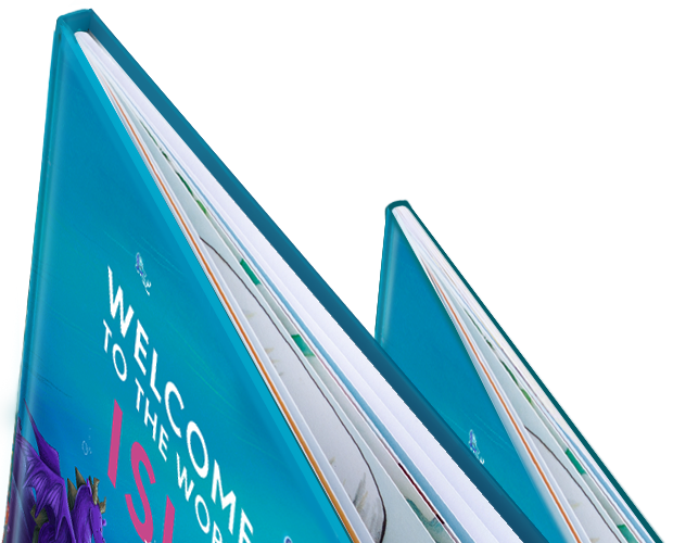 Image showing the book bindings and thickness of paper