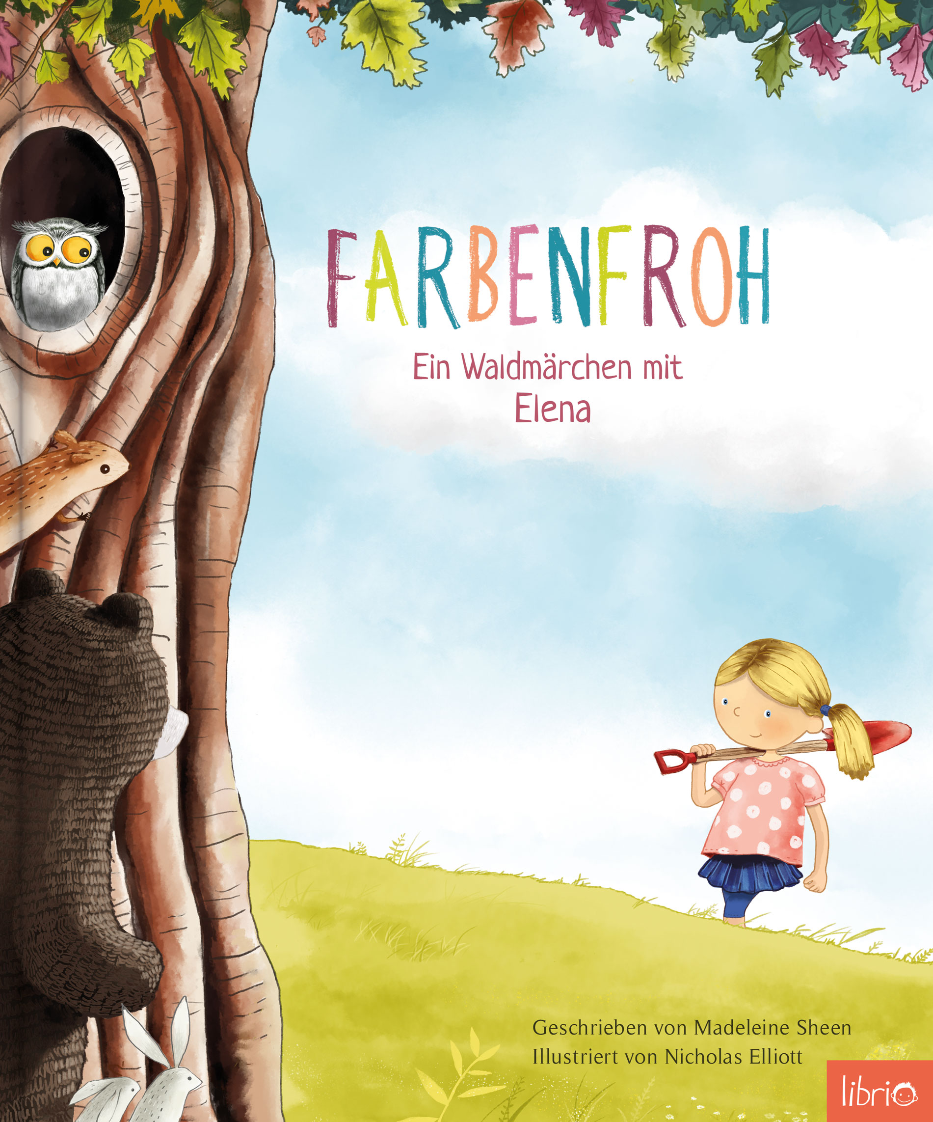 Image of Personalisierte Kinderbücher - Farbenfroh