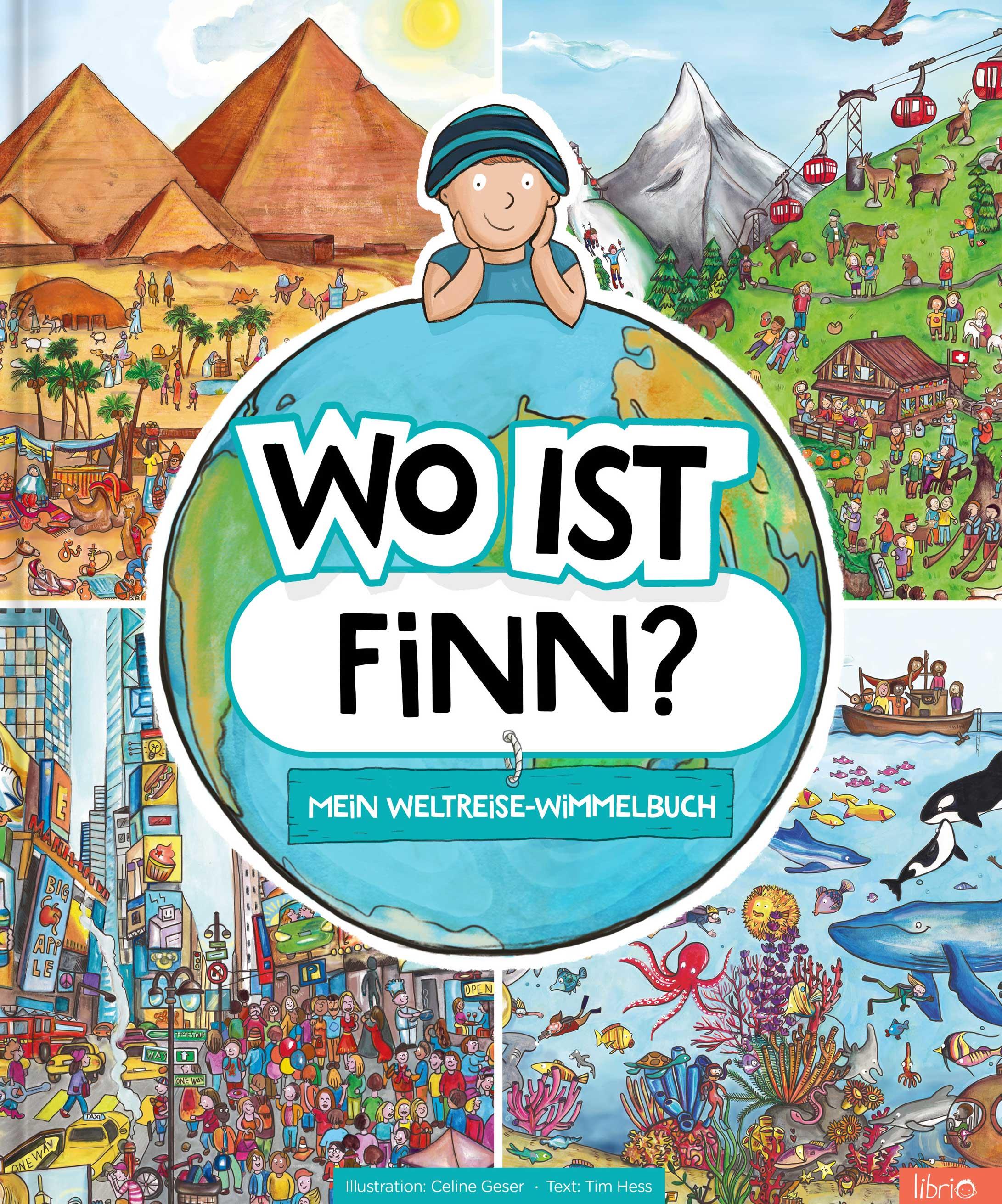 Image of Personalisierte Kinderbücher - Mein Weltreise-Wimmelbuch