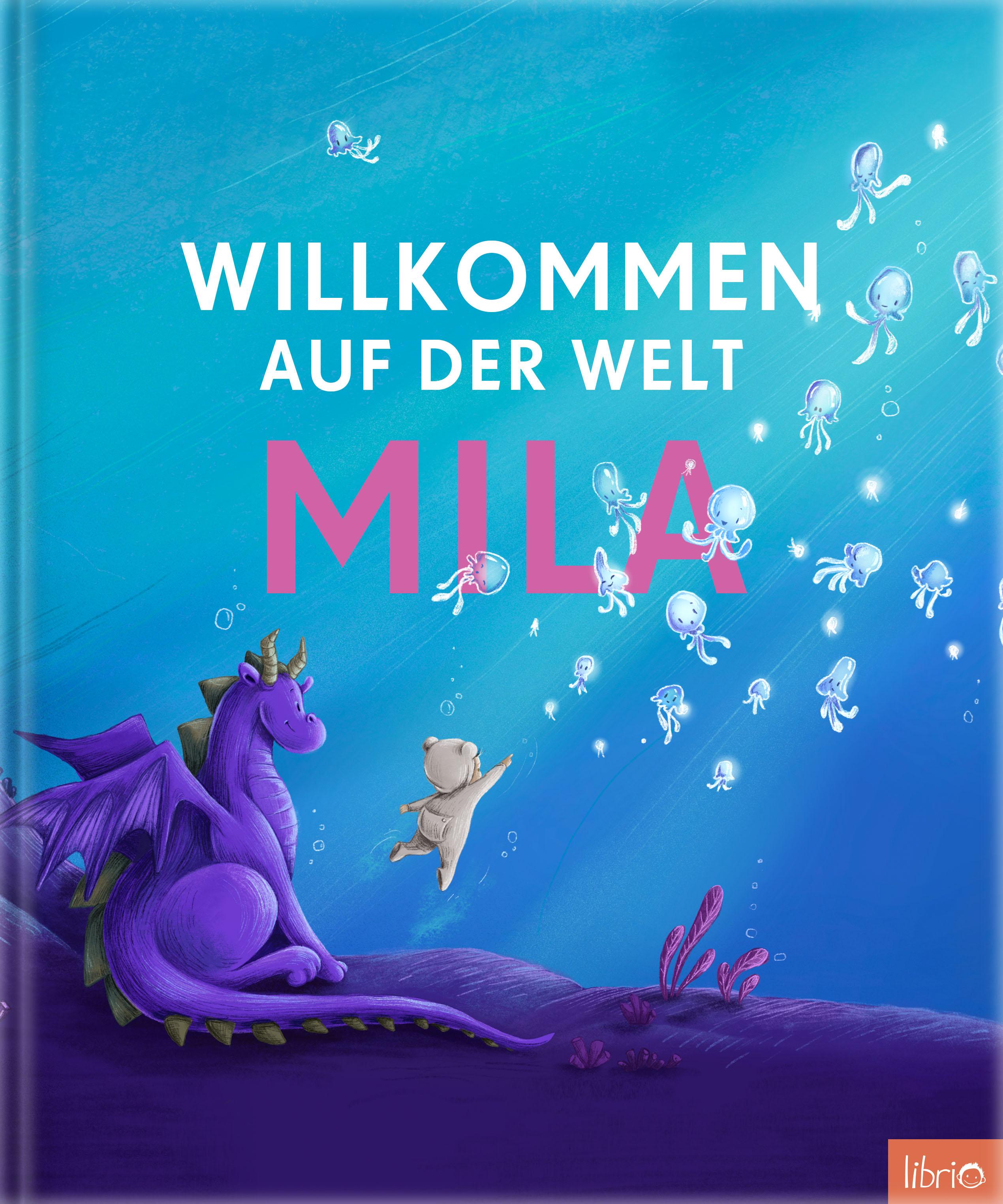 Image of Willkommen auf der Welt - Das personalisierte Kinderbuch zur Geburt