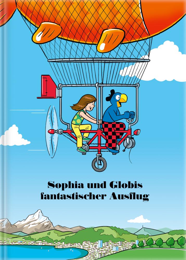 Image of Dein fantastischer Ausflug mit Globi - Personalisiertes Kinderbuch
