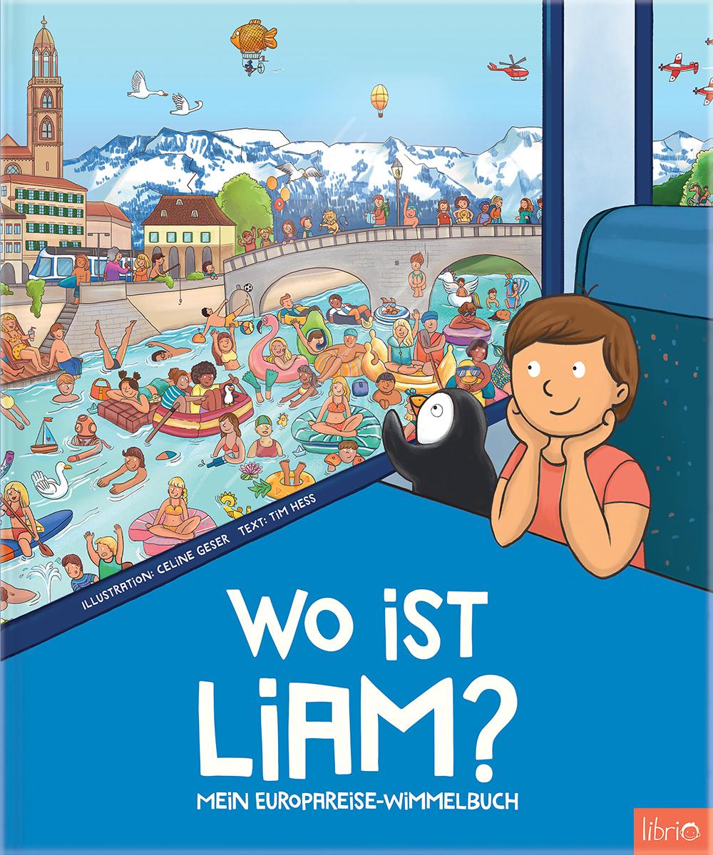 Image of Neu: Mein Europareise Wimmelbuch - Personalisiertes Kinderbuch von Librio