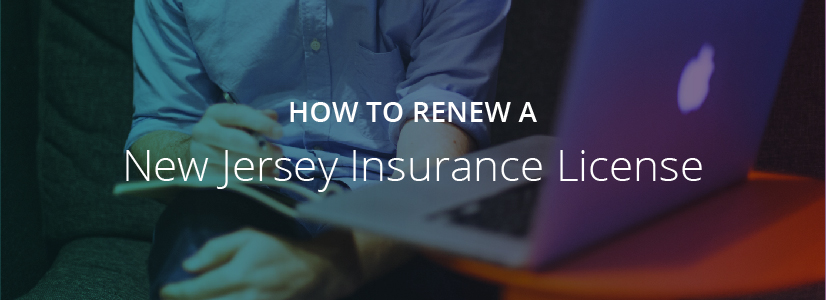How to Renew a New Jersey Insurance License