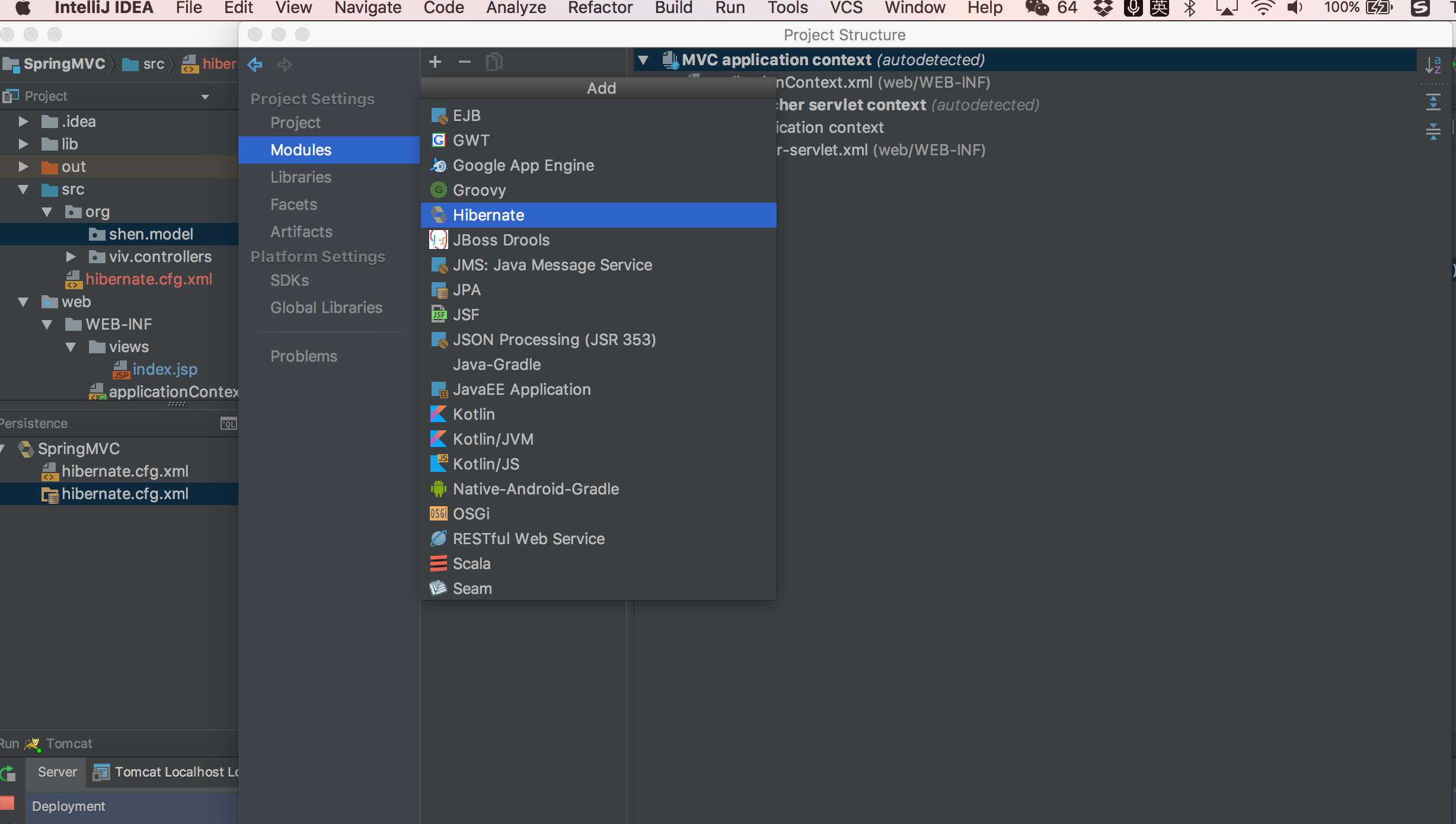 How to install Hibernate in IntelliJ IDEA | Lich_Amnesia's Blog