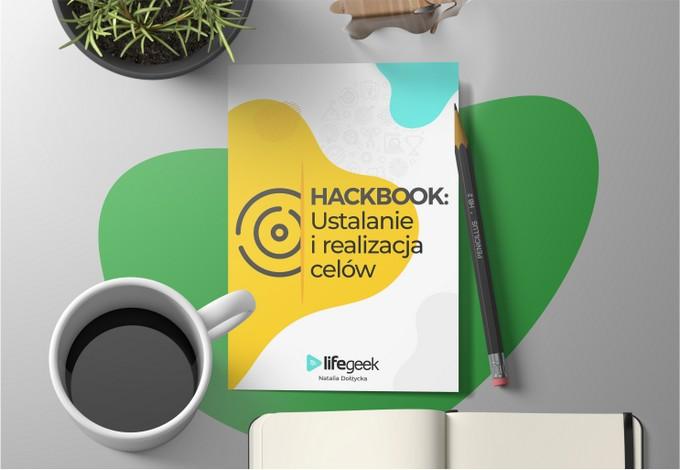 hackbook ustalanie i realizacja celów kawa i notes