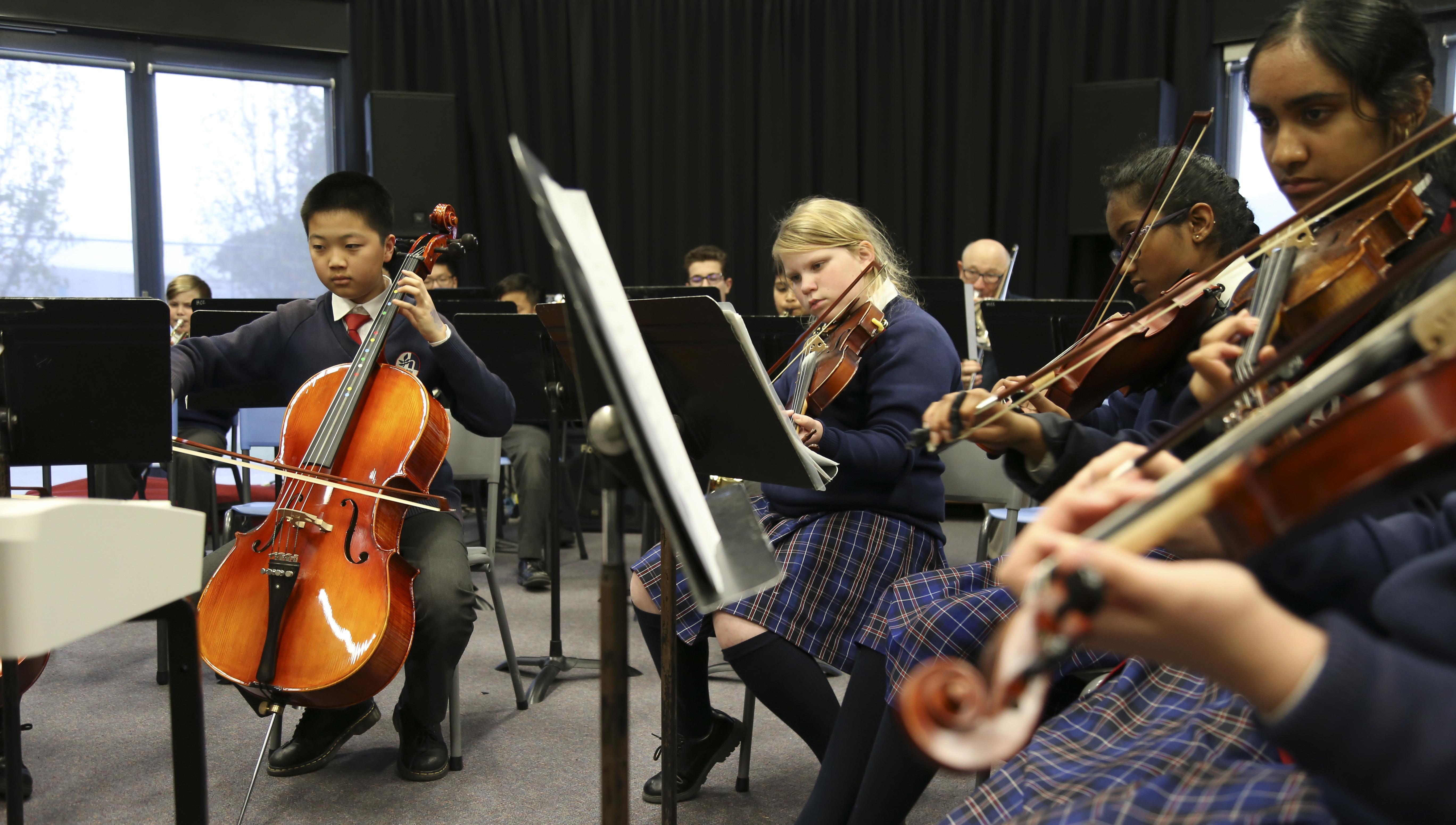 Yr 12 Music Orchestra 19