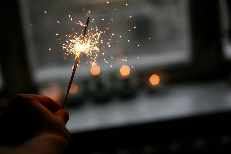 新年のイブパーティー