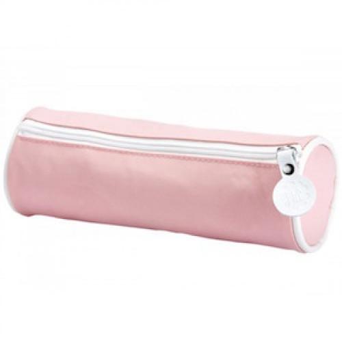 Retro pennenzak - roze - Superette Ninette