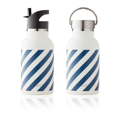 Drinkfles Anker Stripe Navy/Creme de la creme - Liewood - MOMO