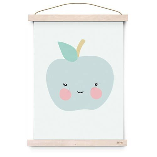 Poster Mr. Apple – Eef Lillemor