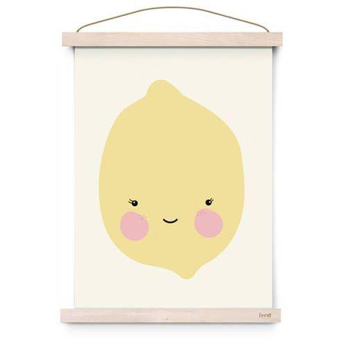 Poster Miss citron – Eef Lillemor