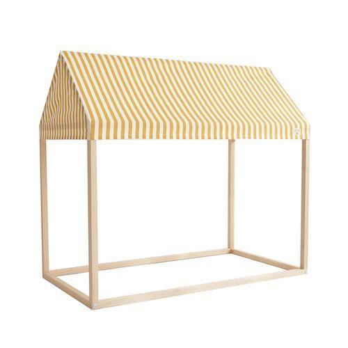 Speelhuis ibiza home stripes geel – Nobodinoz