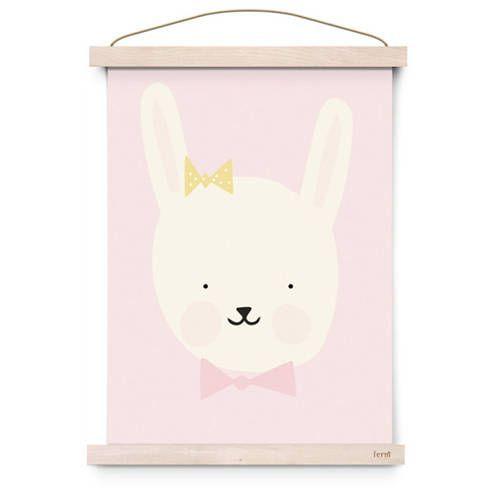 Poster Miss Bunny – Eef Lillemor