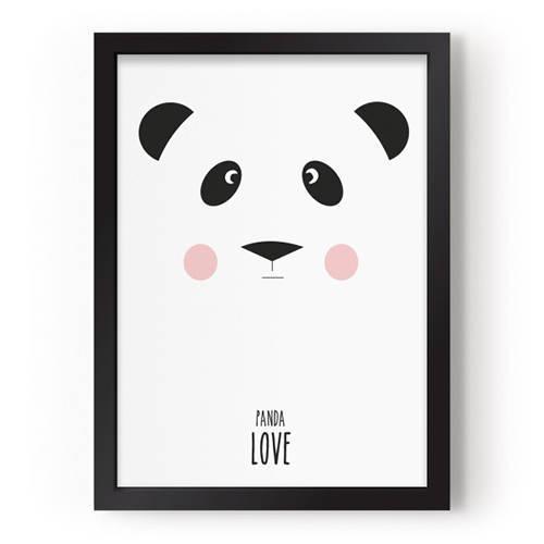 Poster Panda Love – Eef Lillemor