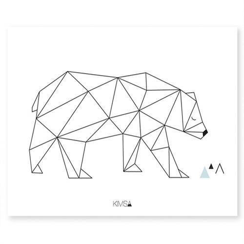 Poster Beer geometrisch – Lilipinso