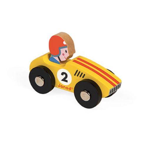 Raceauto geel – Janod