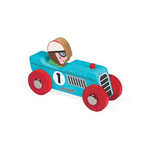 Raceauto blauw – Janod