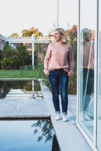 Roze Pullover - Oversized - zacht - stoer