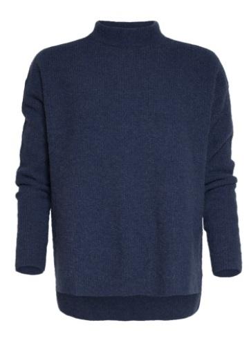 Blauwe Pullover - Oversized - zacht - stoer