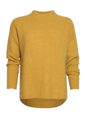 Gele Pullover - Oversized - zacht - stoer