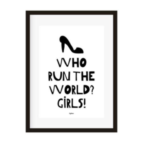 POSTER | Who run the world? Girls!