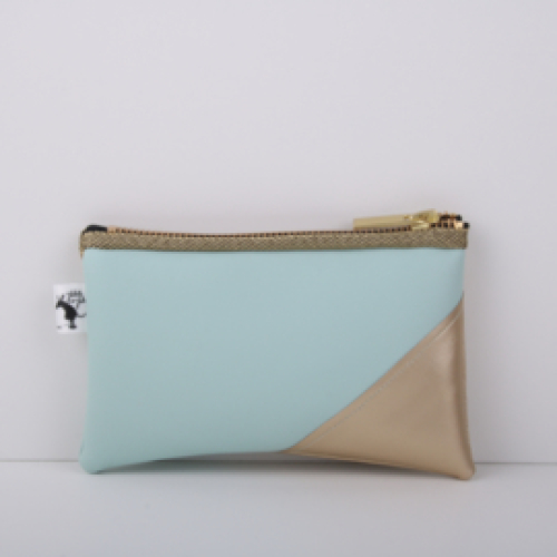CLUTCHES | Mint & Gold