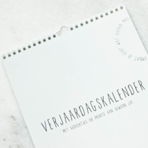 KALENDER | Verjaardagskalender