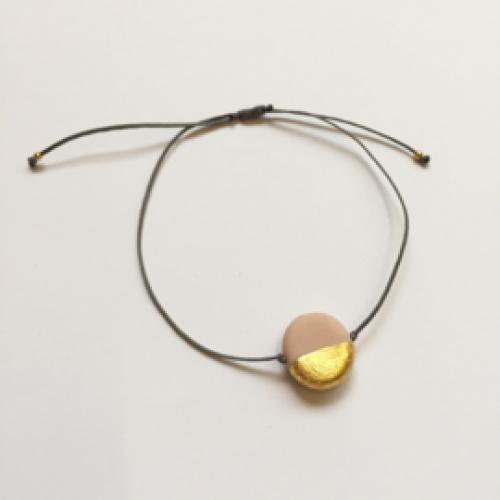 JUWEEL | Armband roze/goud