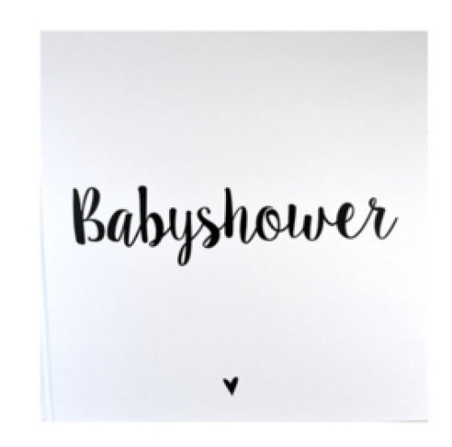 INVULBOEK | Babyshower