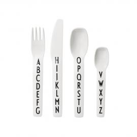 Design Letters melamine cutlery set