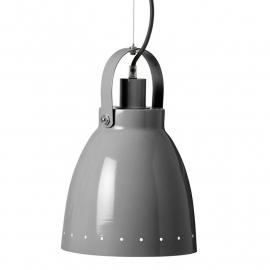 Metalen lamp grijs