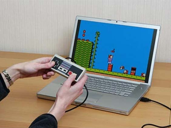 Retro NES-USB-Controller