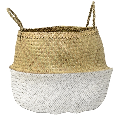 Basket seagrass white