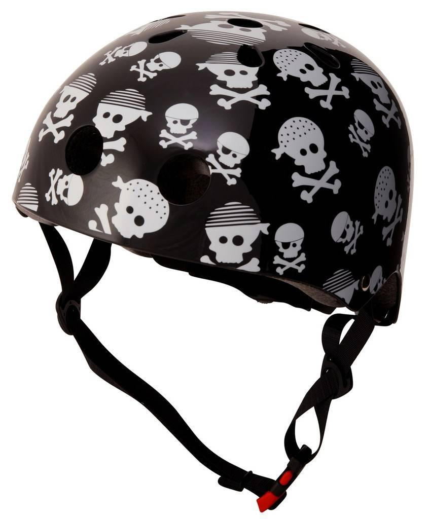 Skate- & fietshelm skulls doodshoofden Kiddimoto
