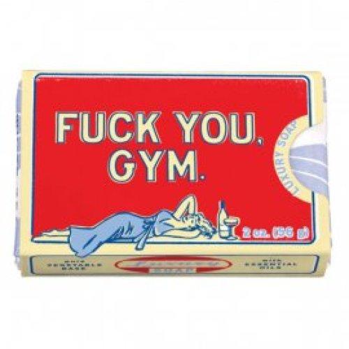 Zeepje Blue Q -  Fuck you Gym