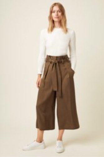 Great Plains - Beau belt wide leg trouser