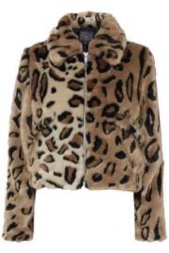 Ichi - Ibi Leopard jacket