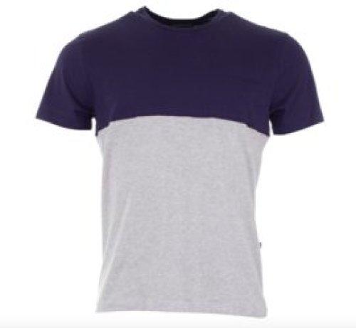 Munoman - T-shirt Arno deep blue/grey