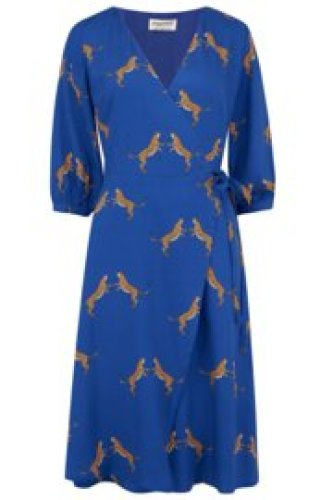 Sugarhill - Aisha dancing tigers wrap dress