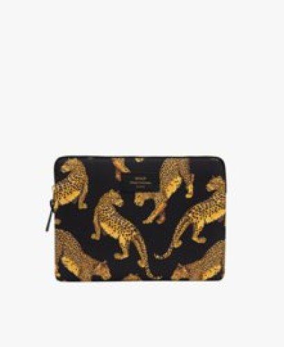 Wouf - iPadsleeve Black Leopard