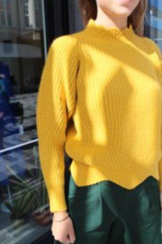 Ch - Bihoro jumper yellow