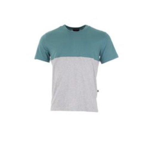 Munoman - T-shirt Arno hydro blue/grey