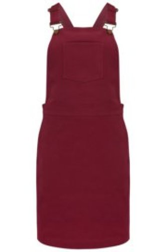 Sugarhill - Toni apron dungaree dress