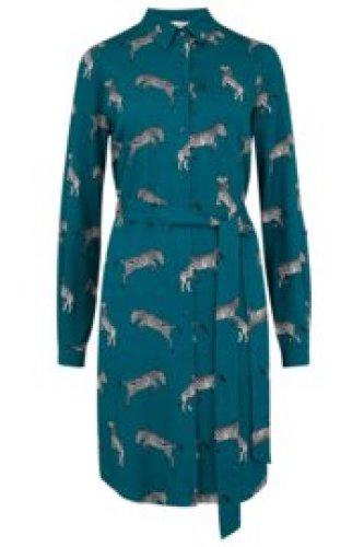 Sugarhill - Tally dazzle of zebras shirt dress