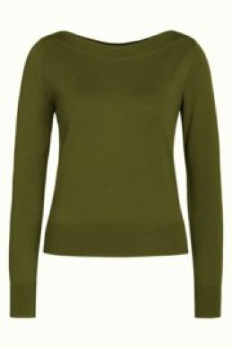 KL - Audrey top Cottonclub Olive Green